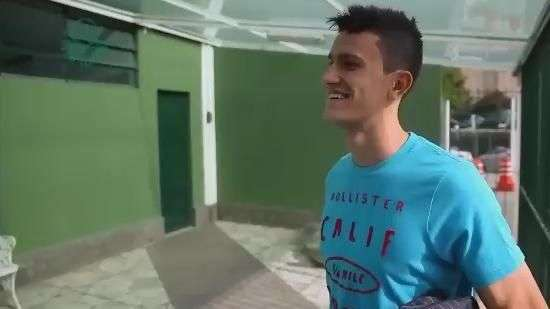 Palmeirense toma susto ao saber que foi convocado à Seleção