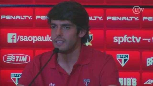 Kaká revela ansiedade para clássico e fala sobre futuro