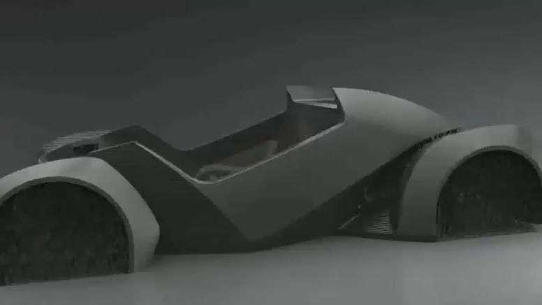Strati, conducen el primer coche impreso en 3D