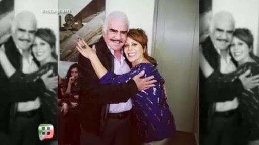 Vicente Fernández compartió su encuentro con Alejandra Guzmán