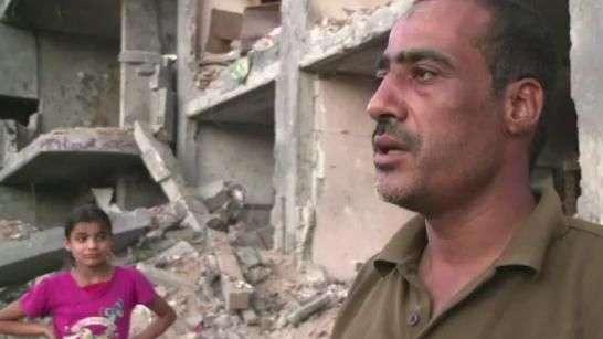 Famílias de Gaza buscam recomeço após 50 dias de guerra