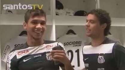 Veja os bastidores de Grêmio 0 x 0 Santos pelo Brasileiro