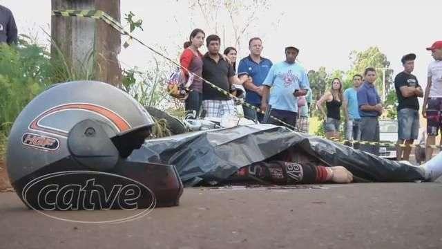 Motociclista morre em acidente no Turisparque