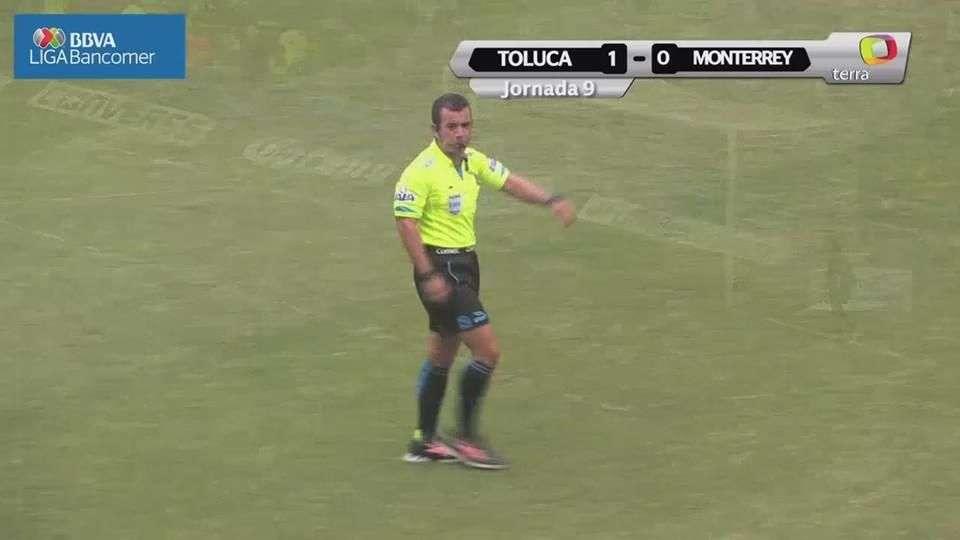 Jornada 9, Toluca 1-0 Monterrey, Apertura 2014