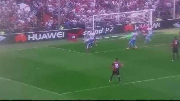 Pinilla marcó el gol de la victoria para Genoa
