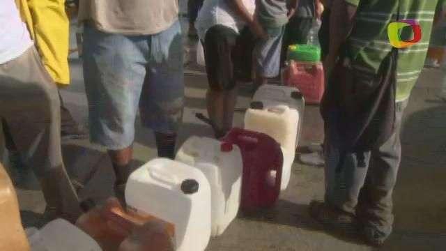 Los Cabos, en México, aún con problemas de abastecimiento