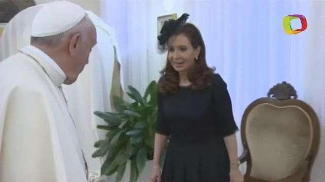El Papa Francisco y la Presidenta de Argentina hablaron ...