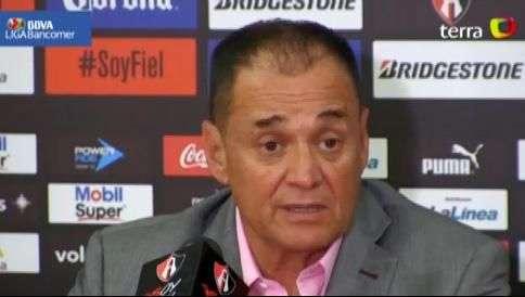 Auxiliar técnico del Atlas reconoce triunfo sufrido ante Cruz Azul