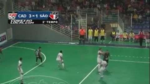 Futsal: Guarapuava goleia o São Paulo no Joaquim Prestes