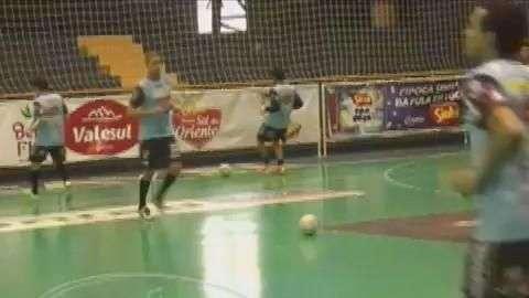 Cascavel Futsal se prepara para os Jogos Aberto do Paraná