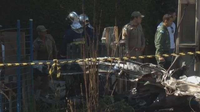 Único sobrevivente de acidente de avião em Curitiba tem alta hospitalar