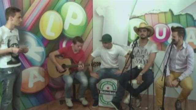 Lucas Miranda e Rafael Batista participaram do Programa Plural