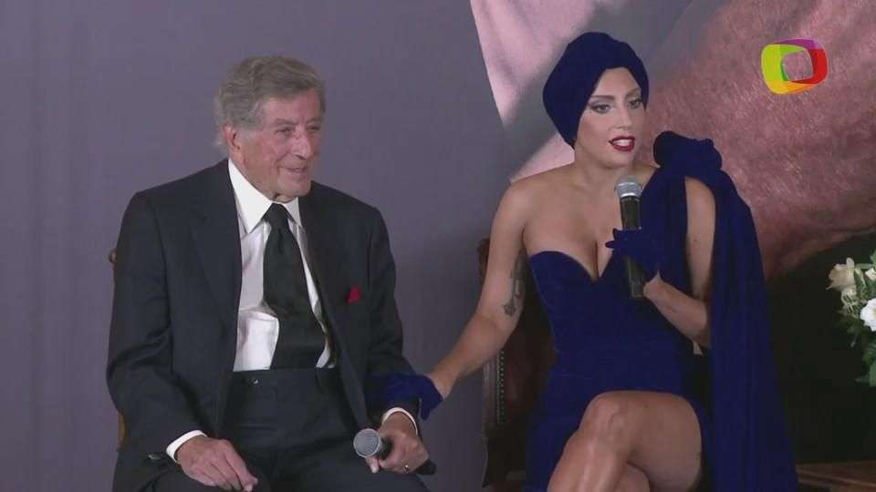 "Lady Gaga y Tony Bennett presentan su álbum ""Cheek to cheek"""