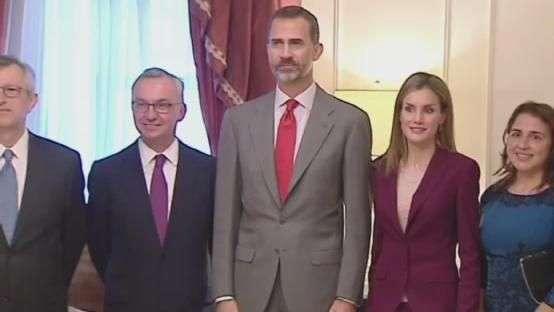 Rei da Espanha encontra-se com Obama em Nova York