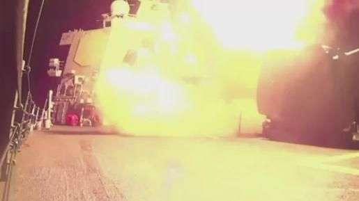 Veja bombardeio comandado pelos EUA na Síria