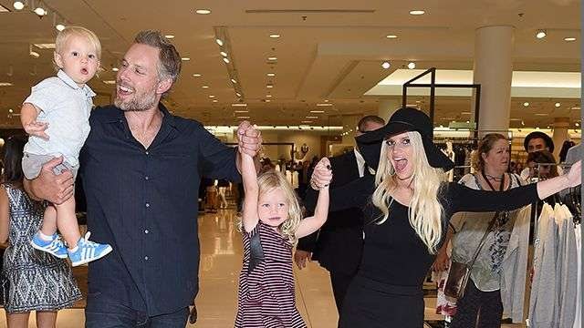 Jessica Simpson's Kids Steal The Spotlight