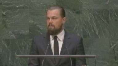 DiCaprio exige que líderes atuem contra aquecimento global