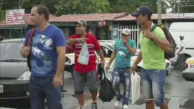 Autoridades migratorias de México liberaron a náufragos ...