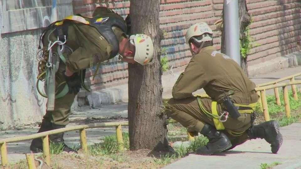Un muerto por explosión en Santiago