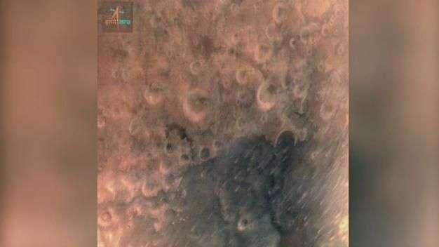 La India publica la primera imagen de satellite en Marte