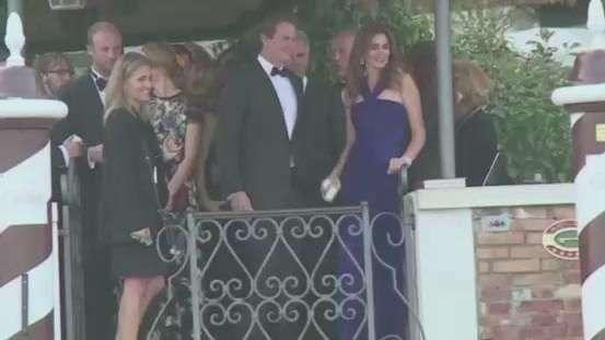 Hollywood invade Veneza para casamento de George Clooney