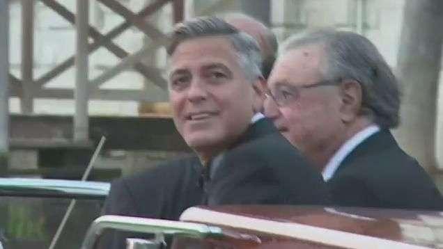 Clooney y Alamuddin se dan el sí quiero