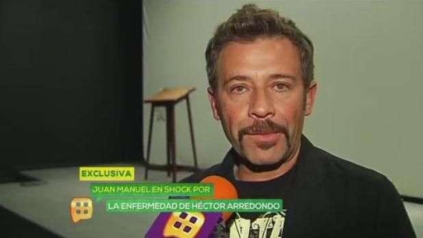 Juan Manuel Bernal lamenta el cáncer de Héctor Arredondo