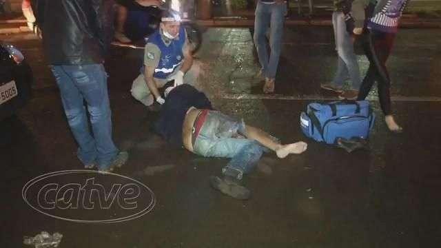 Homem é atropelado ao atravessar avenida Brasil