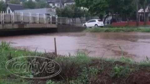 Regiões oeste e sudoeste são as mais afetadas pelas chuvas