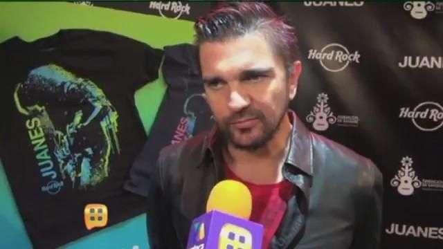Juanes recibió gran donativo para su fundación