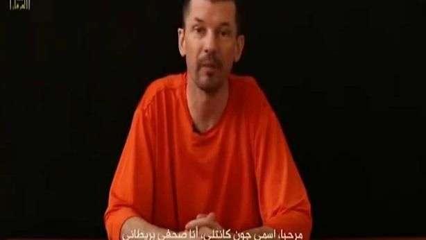 Video de periodista secuestrado por Estado Islámico