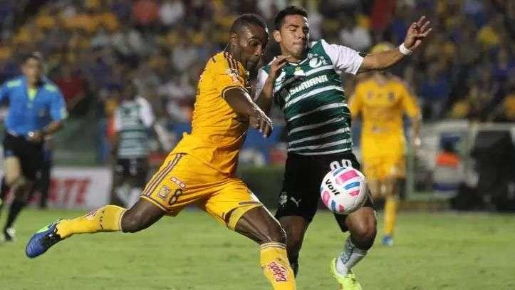 Jornada 11, Tigres 1-1 Santos, Liga Mx, Apertura 2014