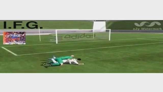 Joe Hart sodomiza a CR7 en el FIFA