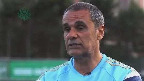 TV Palmeiras apresenta novo preparador de goleiros do clube