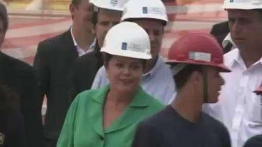 Acompanhe visita de Dilma às obras das Olimpíadas no Rio