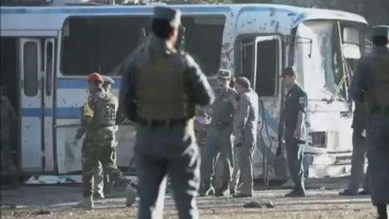 Ataques deixam sete mortos em Cabul