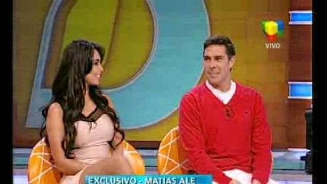 Matía Ale baja 14 kilos y se lo dedica a Alfano y Nacha