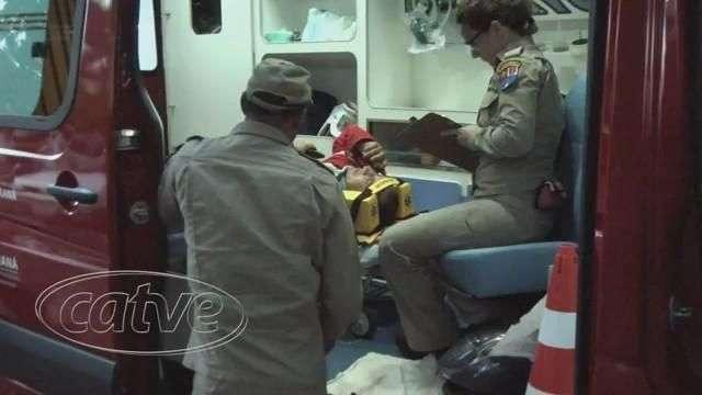 Motociclista se fere em acidente no bairro Universitário