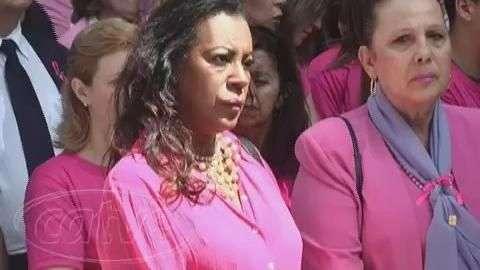 Lançamento da Campanha Outubro Rosa é realizado em Curitiba