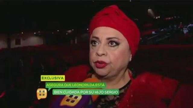 Lucila Mariscal lamenta salud de Leonorilda Ochoa