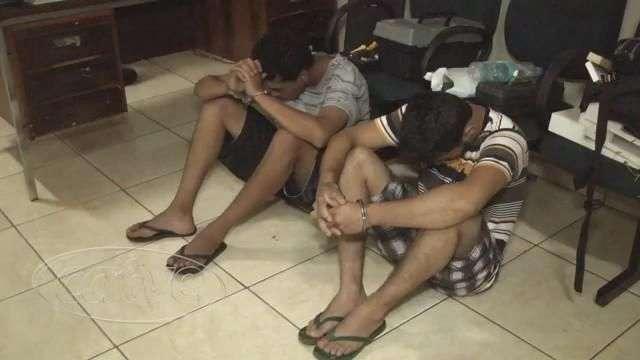 Jovens são presos com quase dois quilos de crack