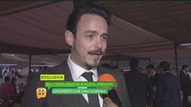 Billy, feliz porque Rodrigo Dávila será papá
