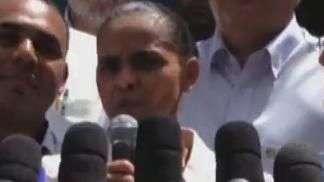 Marina Silva rebate críticas e aposta em discurso mais duro