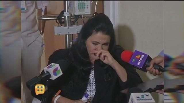 María Conchita Alonso salió del hospital