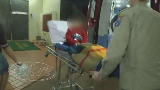 Menino de cinco anos sofre queimaduras com água quente no Esmeralda