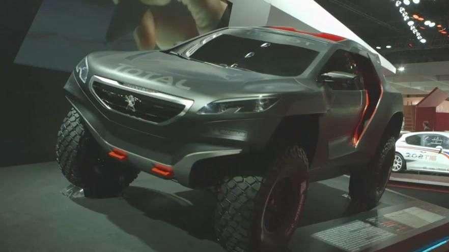 Exalt, Quarz y otras novedades Peugeot en París 2014