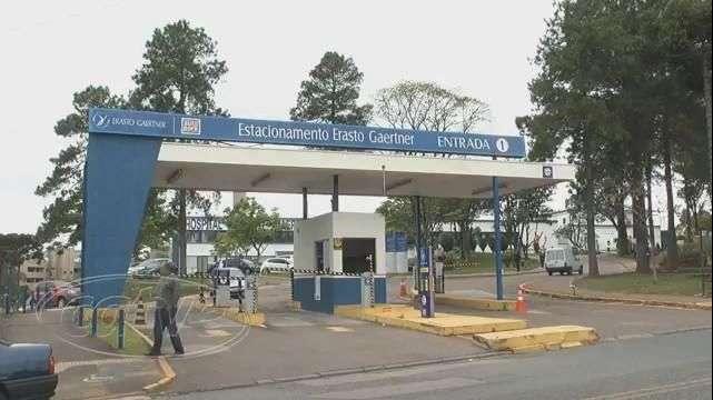Bandidos explodem caixas eletrônicos dentro de hospital em Curitiba