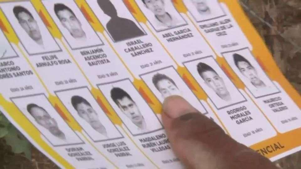 México: desesperada búsqueda de estudiantes