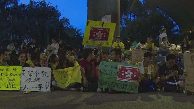 Crece apoyo internacional a manifestantes en Hong Kong