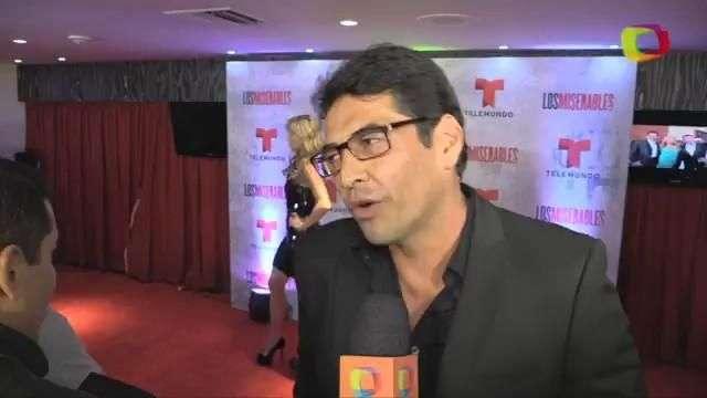 Gabriel Porras, es bueno y malo en 'Los miserables'